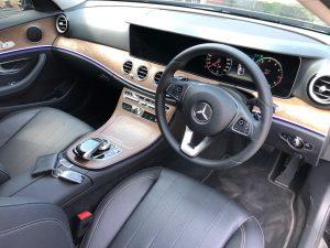setir Mercedes Benz e250 di Bali