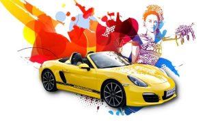 Sewa Porsche Boxter Cabriolet