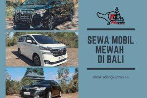 Sewa Mobil Mewah di Bali? Ini Beberapa Jenis yang Bisa Dipilih